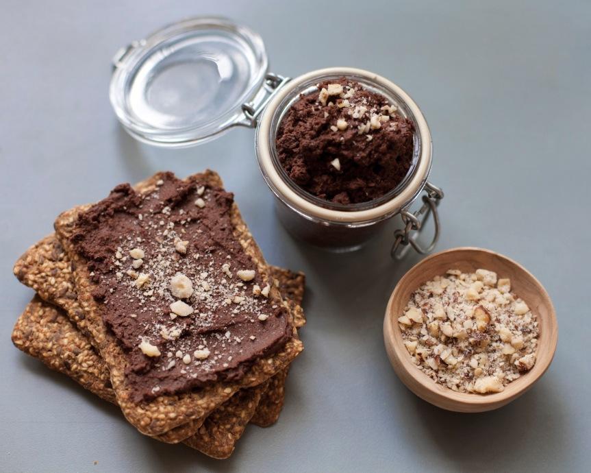Sjokoladehummus